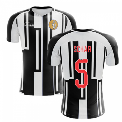 2020-2021 Newcastle Home Concept Football Shirt (SCHAR 5)