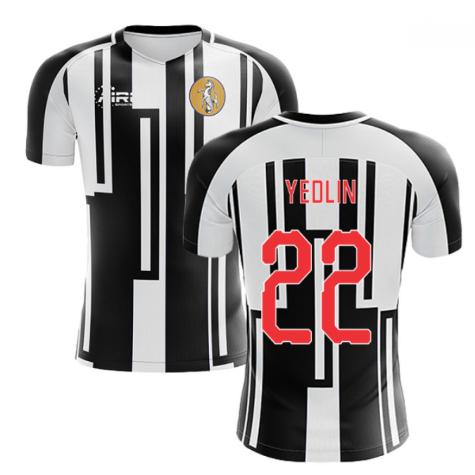2020-2021 Newcastle Home Concept Football Shirt (YEDLIN 22)