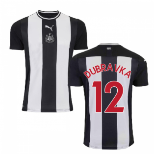 2019-2020 Newcastle Home Football Shirt (Kids) (DUBRAVKA 12)