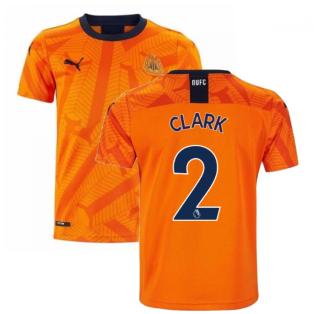 2019-2020 Newcastle Third Football Shirt (Kids) (CLARK 2)