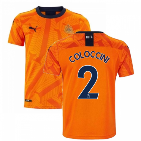2019-2020 Newcastle Third Football Shirt (Kids) (COLOCCINI 2)