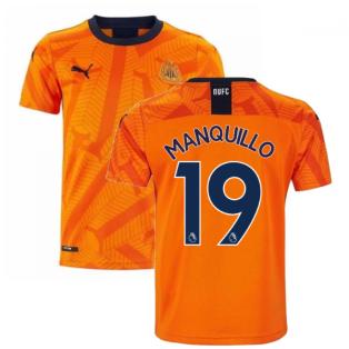 2019-2020 Newcastle Third Football Shirt (Kids) (MANQUILLO 19)