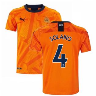 2019-2020 Newcastle Third Football Shirt (Kids) (SOLANO 4)