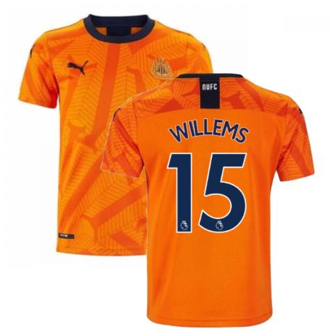 2019-2020 Newcastle Third Football Shirt (Kids) (Willems 15)