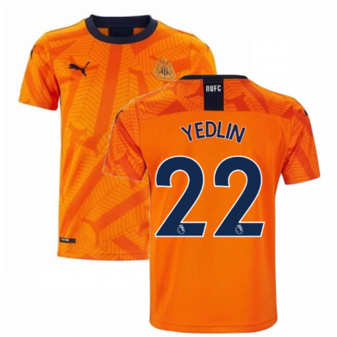 2019-2020 Newcastle Third Football Shirt (Kids) (YEDLIN 22)