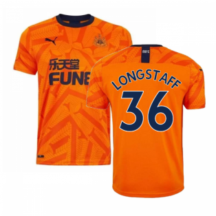 2019-2020 Newcastle Third Football Shirt (LONGSTAFF 36)