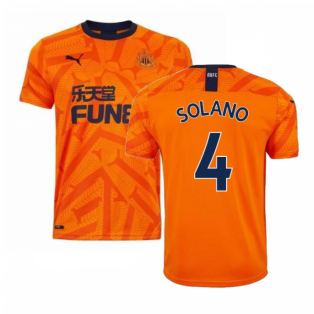 2019-2020 Newcastle Third Football Shirt (SOLANO 4)