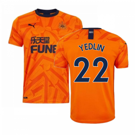 2019-2020 Newcastle Third Football Shirt (YEDLIN 22)