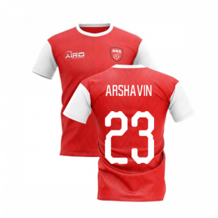 2020-2021 North London Home Concept Football Shirt (ARSHAVIN 23)