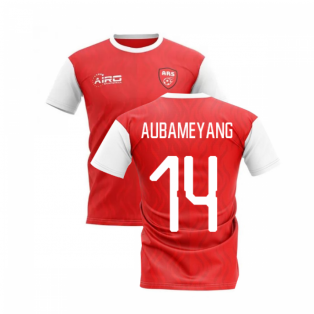 2020-2021 North London Home Concept Football Shirt (AUBAMEYANG 14)