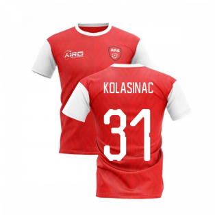 2020-2021 North London Home Concept Football Shirt (KOLASINAC 31)