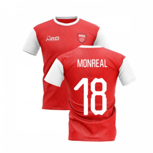 2020-2021 North London Home Concept Football Shirt (MONREAL 18)