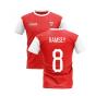 2020-2021 North London Home Concept Football Shirt (RAMSEY 8)