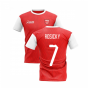 2019-2020 North London Home Concept Football Shirt (ROSICKY 7)