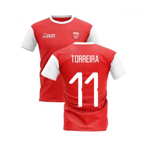 2020-2021 North London Home Concept Football Shirt (TORREIRA 11)