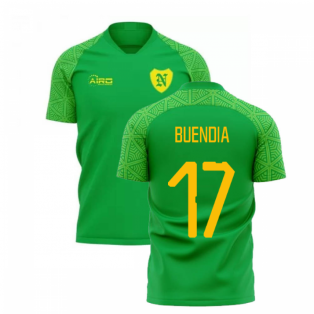 2019-2020 Norwich Away Concept Football Shirt (BUENDIA 17)