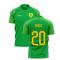 2020-2021 Norwich Away Concept Football Shirt (Drmic 20)