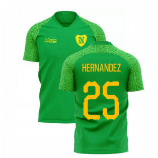 2019-2020 Norwich Away Concept Football Shirt (HERNANDEZ 25)