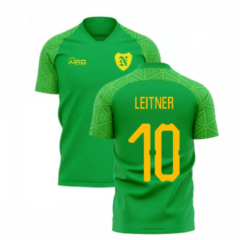 2020-2021 Norwich Away Concept Football Shirt (LEITNER 10)