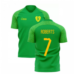 2019-2020 Norwich Away Concept Football Shirt (Roberts 7)