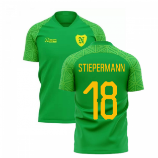 2019-2020 Norwich Away Concept Football Shirt (STIEPERMANN 18)
