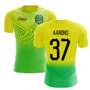2019-2020 Norwich Home Concept Football Shirt (Aarons 37) - Kids