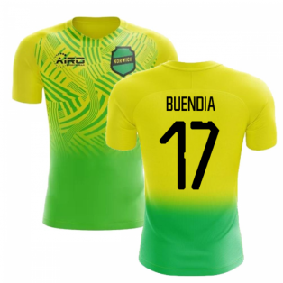 2019-2020 Norwich Home Concept Football Shirt (Buendia 17) - Kids