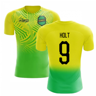 2019-2020 Norwich Home Concept Football Shirt (Holt 9)