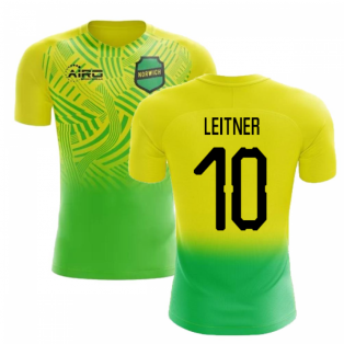 2020-2021 Norwich Home Concept Football Shirt (Leitner 10) - Kids