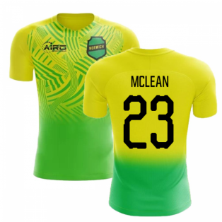 2019-2020 Norwich Home Concept Football Shirt (McLean 23) - Kids