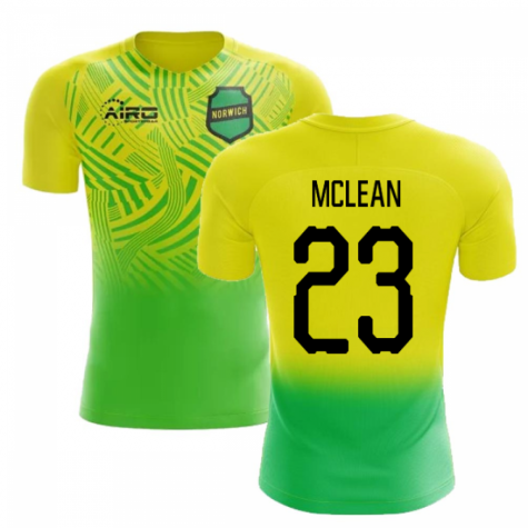 2020-2021 Norwich Home Concept Football Shirt (McLean 23)