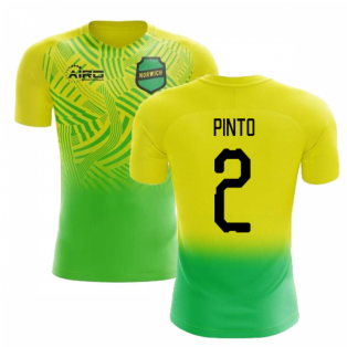 2019-2020 Norwich Home Concept Football Shirt (Pinto 2) - Kids