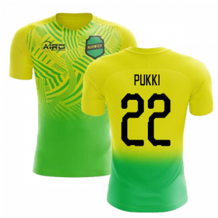 2020-2021 Norwich Home Concept Football Shirt (Pukki 22)