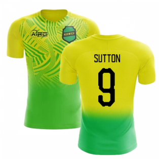 2019-2020 Norwich Home Concept Football Shirt (Sutton 9) - Kids