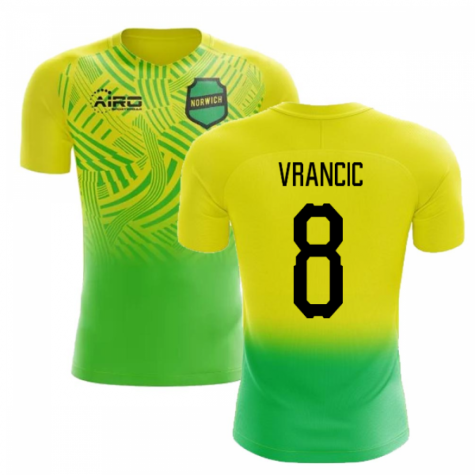 2019-2020 Norwich Home Concept Football Shirt (Vrancic 8)