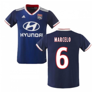 2019-2020 Olympique Lyon Adidas Away Football Shirt (MARCELO 6)