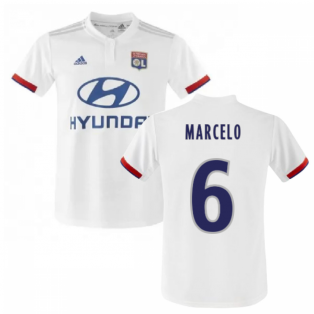 2019-2020 Olympique Lyon Adidas Home Football Shirt (Kids) (MARCELO 6)