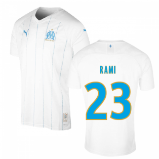 2019-2020 Olympique Marseille Puma Home Football Shirt (RAMI 23)