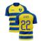 2020-2021 Parma Home Concept Football Shirt (ALVES 22)