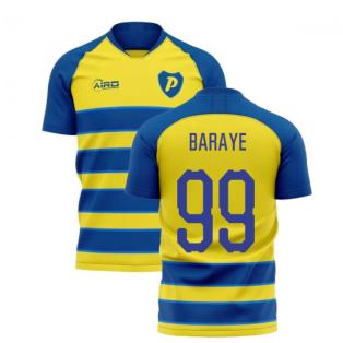 2019-2020 Parma Home Concept Football Shirt (BARAYE 99)