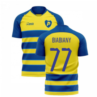 2020-2021 Parma Home Concept Football Shirt (BIABIANY 77)