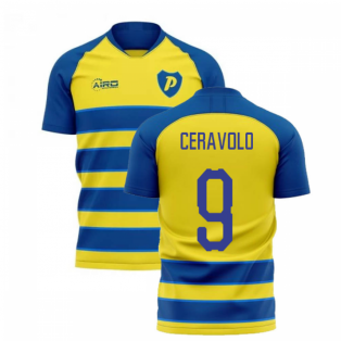 2020-2021 Parma Home Concept Football Shirt (CERAVOLO 9)