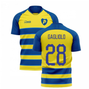 2020-2021 Parma Home Concept Football Shirt (GAGLIOLO 28)
