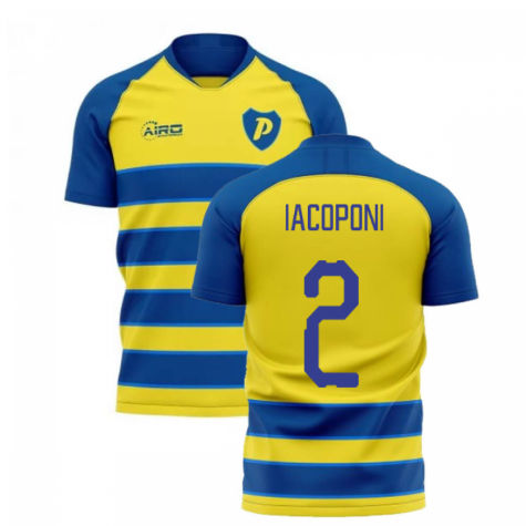 2019-2020 Parma Home Concept Football Shirt (IACOPONI 2)