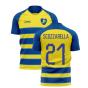 2020-2021 Parma Home Concept Football Shirt (SCOZZARELLA 21)
