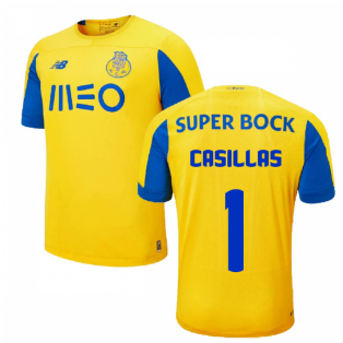 2019-2020 Porto Away Shirt (Casillas 1)