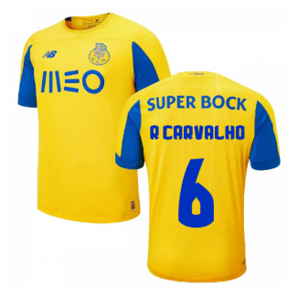 2019-2020 Porto Away Shirt (R Carvalho 6)