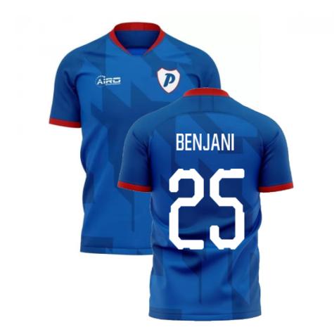 2019-2020 Portsmouth Home Concept Football Shirt (Benjani 25)