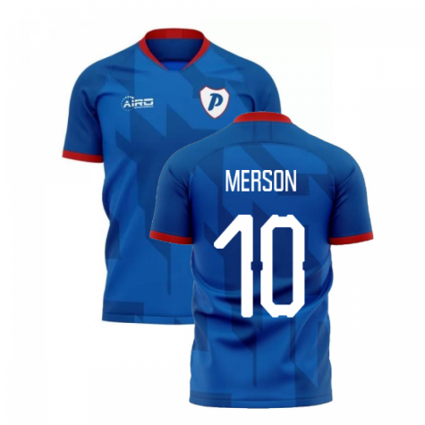 2019-2020 Portsmouth Home Concept Football Shirt (Merson 10)