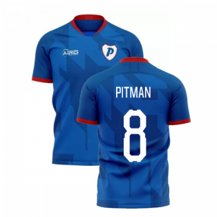 2020-2021 Portsmouth Home Concept Football Shirt (Pitman 8)